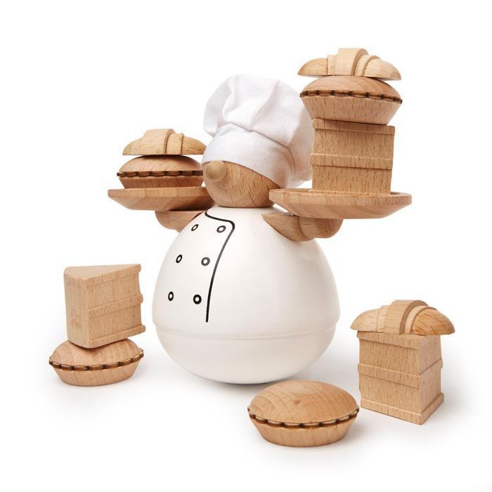 品名:麵包師傅堆堆樂尺寸:8.9X6.4X12.7CM材質:山毛櫸/ 棉產品介紹:輪流在糕點上擺食物,但千萬別讓麵包師手上的食物掉了!糕點包含了派、蛋糕和牛角麵包。【鑑賞期及退貨注意事項】1.提供15