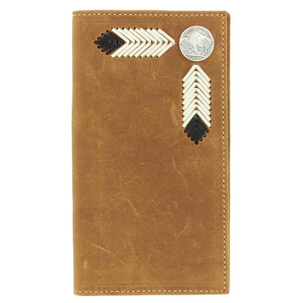 Nocona Buffalo Nickel - Mens Rodeo Wallet