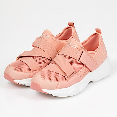 SKECHERS DLITES AIRY時尚休閒運動鞋 老爹鞋 88888177CRL粉