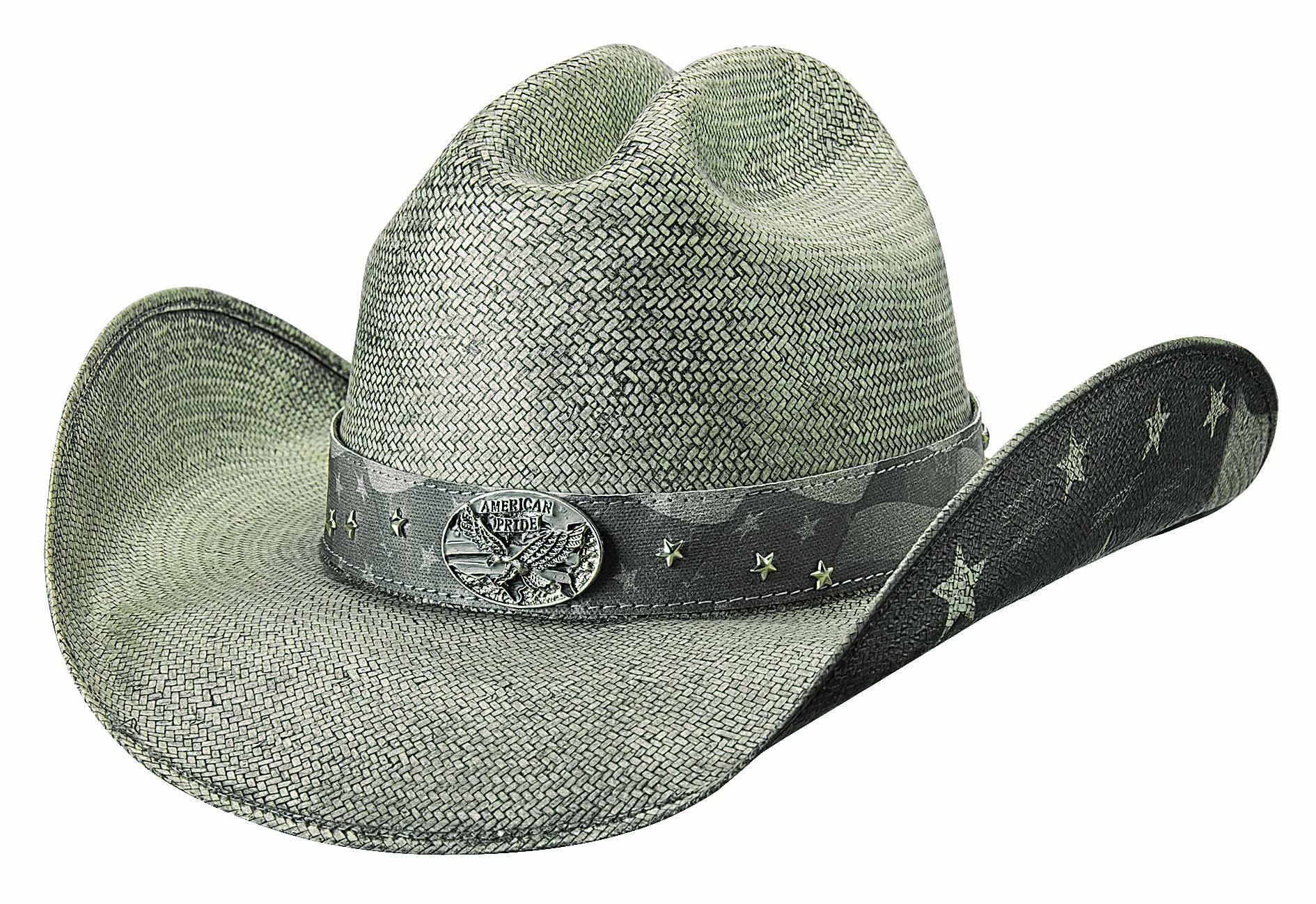 Bullhide Land Of Freedom - Shapeable Straw Cowboy Hat