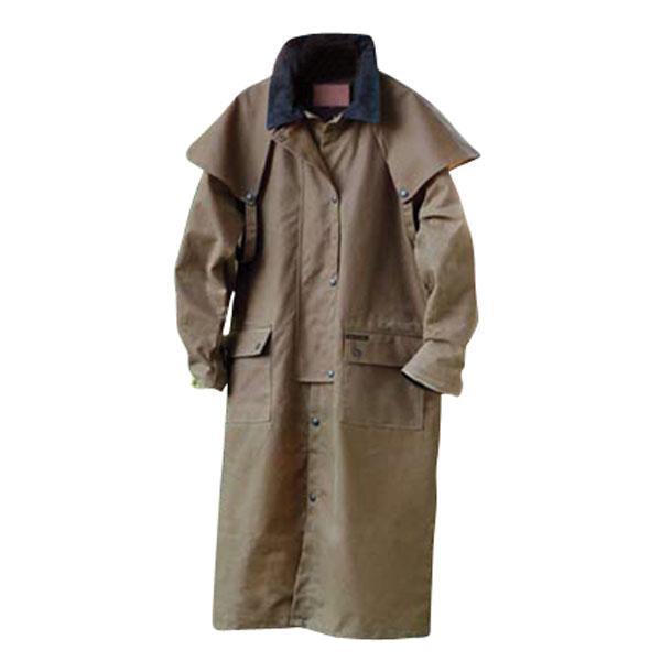Outback Stockman Duster - Oilskin Jacket