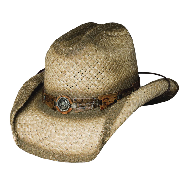 Bullhide Horse Play - Shapeable Childrens Straw Cowboy Hat