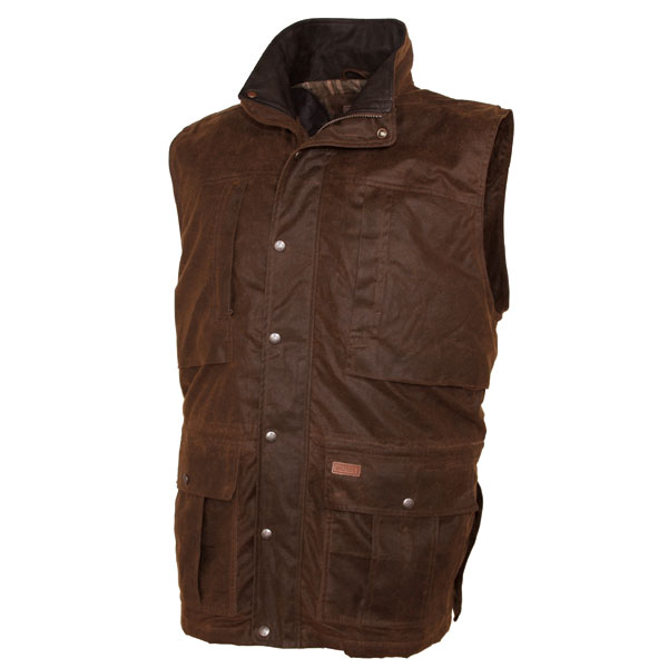 Outback Deer Hunter - Oilskin Vest