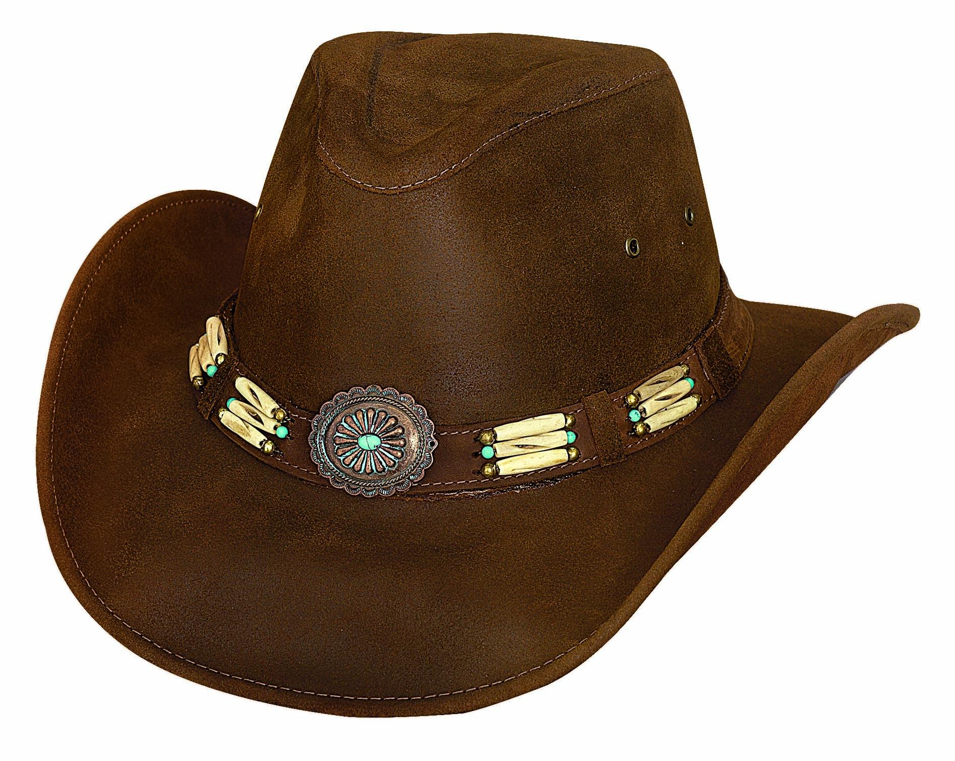 Bullhide Apalachee- Leather Cowboy Hat