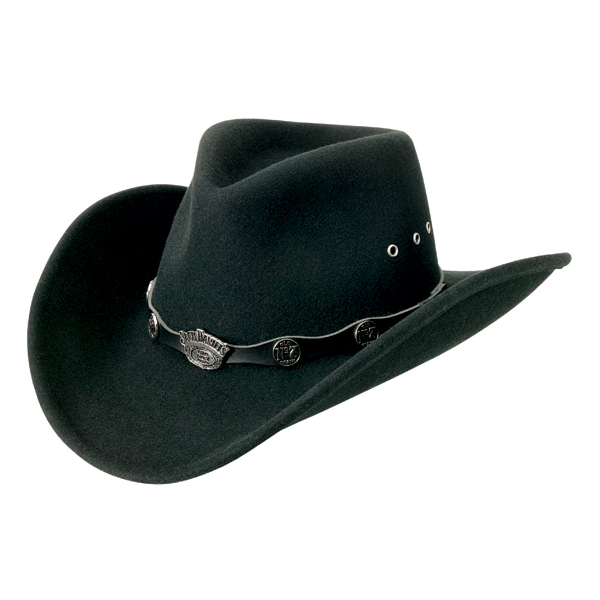 Jack Daniels Pedal to the Metal (JD03-91) - Wool Cowboy Hat