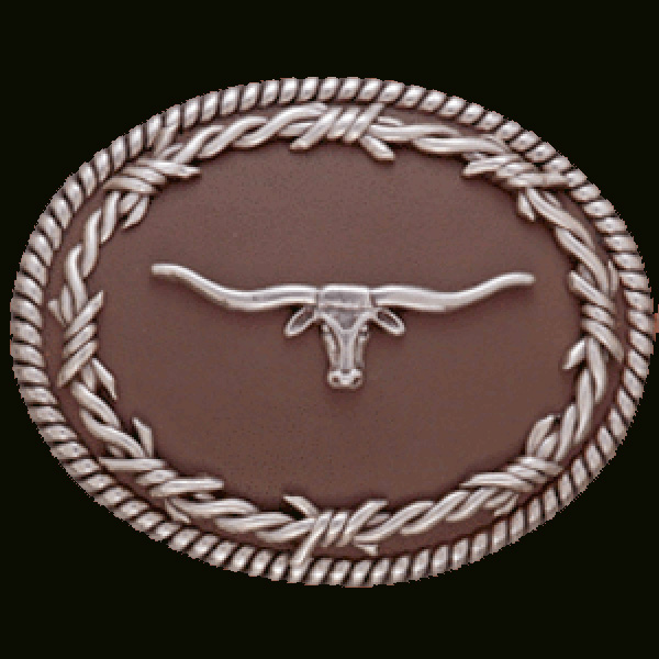 Nocona Brownie - Belt Buckle