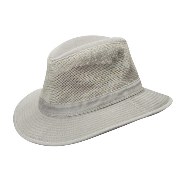 Dorfman Pacific Breezer - Canvas Outback Hat