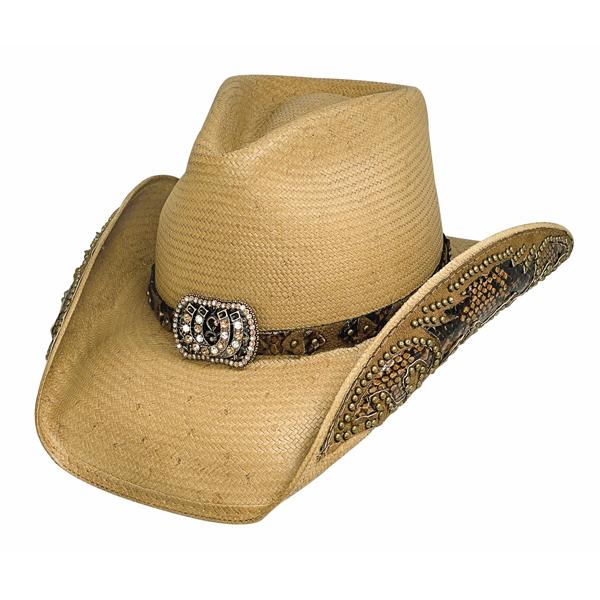 Bullhide Cowgirl Fantasy - Womens Straw Cowboy Hat