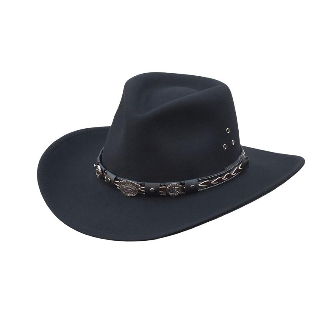 Jack Daniels Crushable Wool (JD03-113) - Cowboy Hat