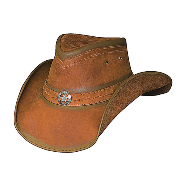 Bullhide Cooper Creek - Leather Cowboy Hat
