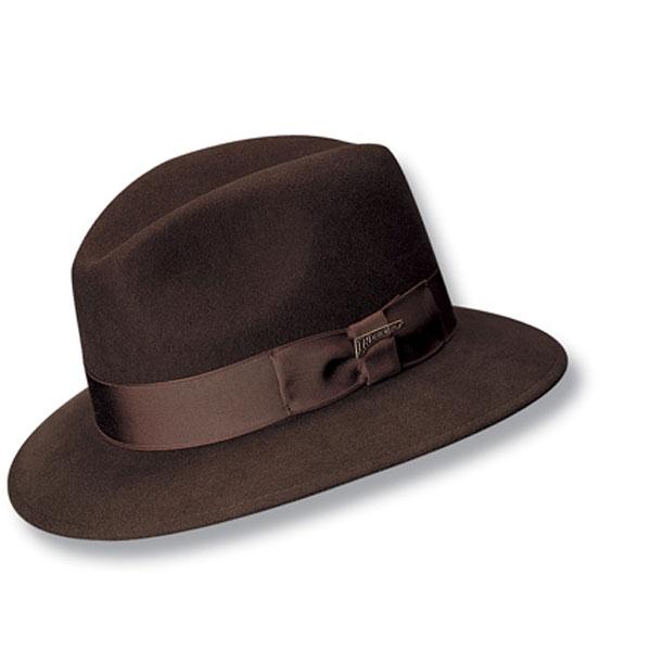 Indiana Jones Hats Water Repellent Indiana Jones™ - Soft Wool Felt Fedora Hat