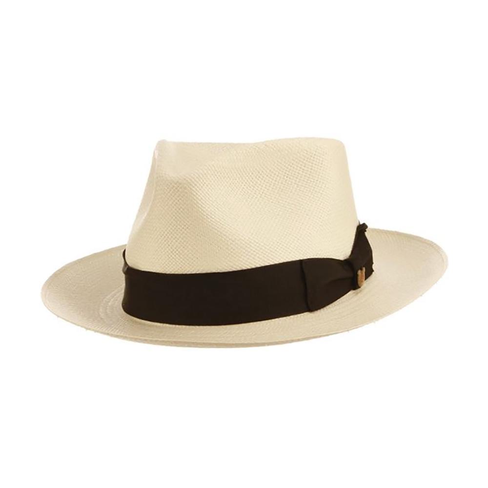 Biltmore Seattle Slew - Panama Straw Fedora Hat