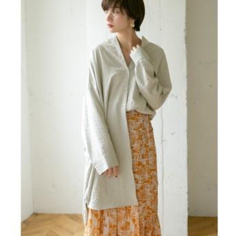 【ケービーエフ/KBF】 KBF アシンメトリーサイズシャツ