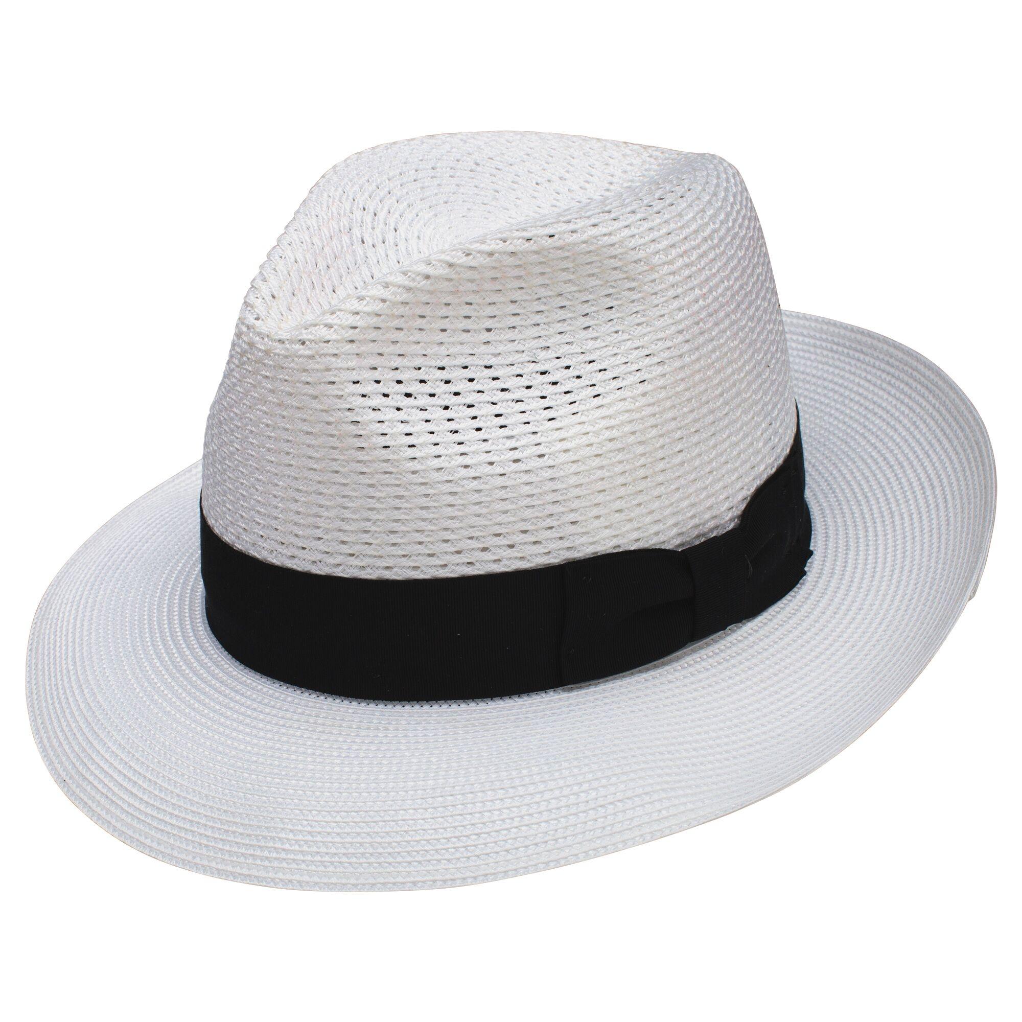 Dobbs Coolman - Milan Straw Fedora Hat