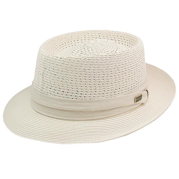 Dobbs Bishop - Vented Milan Porkpie Hat