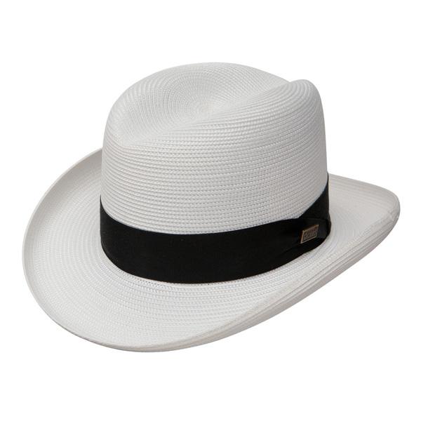 Dobbs El Dorado - Straw Fedora Hat