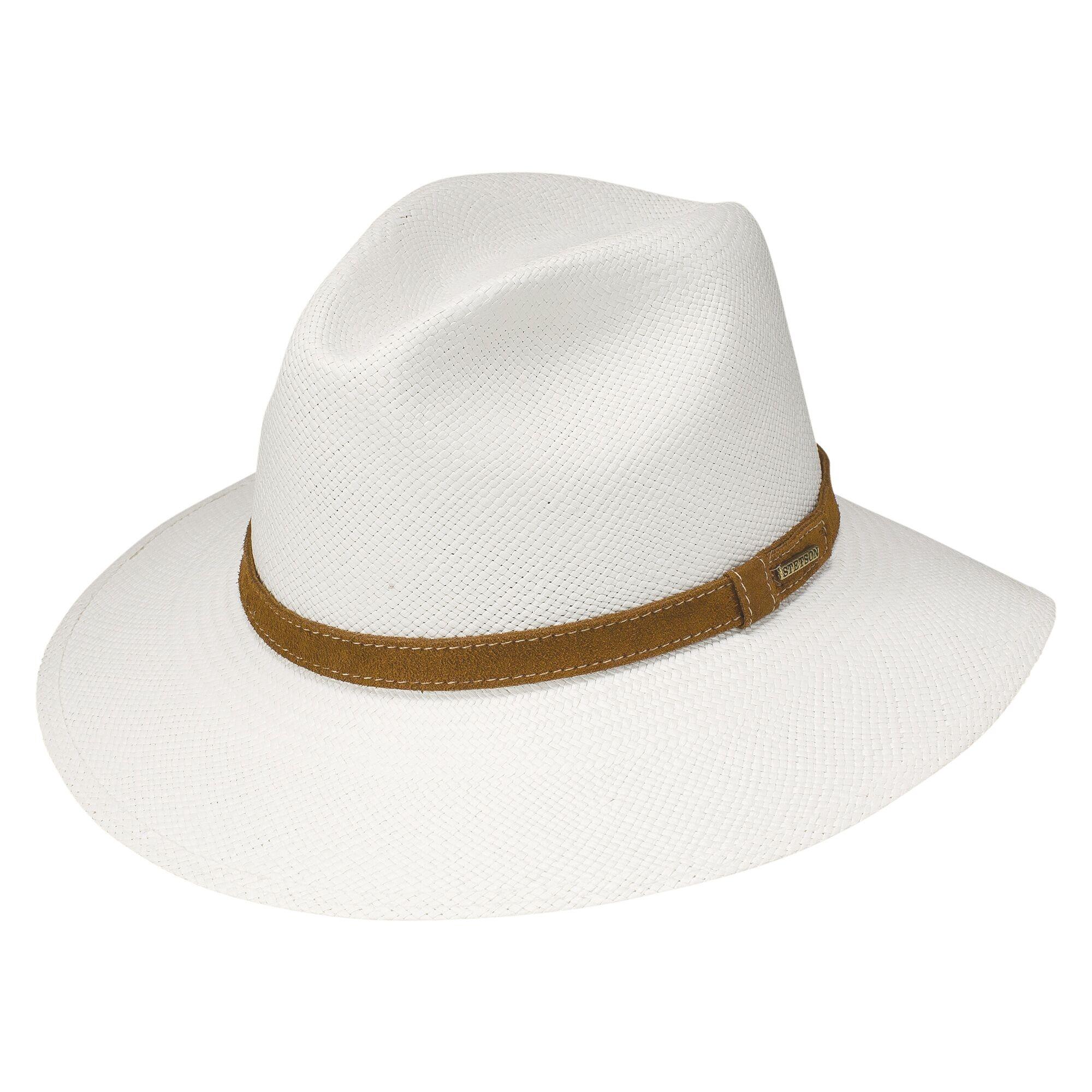 Stetson Modern - Straw Fedora Hat