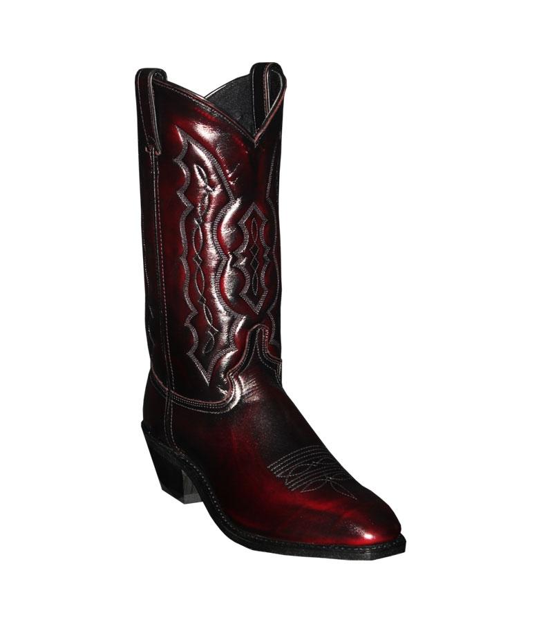 Abilene Black Cherry- Mens Cowboy Boots