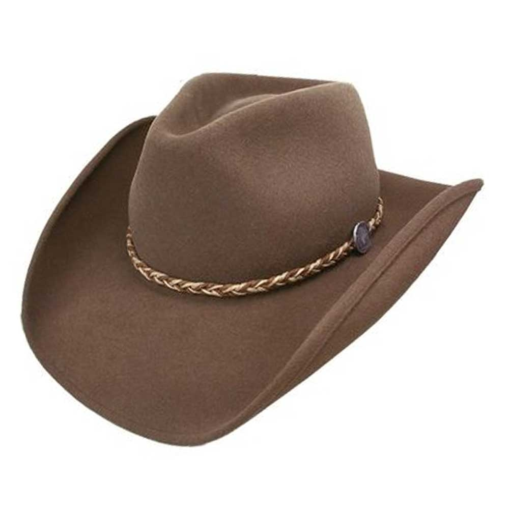 Stetson Rawhide - (3X) Buffalo Fur Shapeable Cowboy Hat