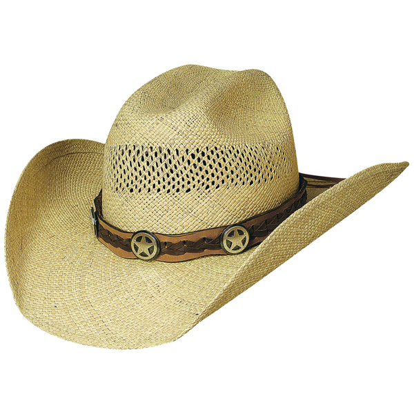 Bullhide Lone Gunman - Shapeable Straw Cowboy Hat