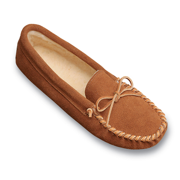 Minnetonka Traditional Pile Lined Softsole - Mens Slipper