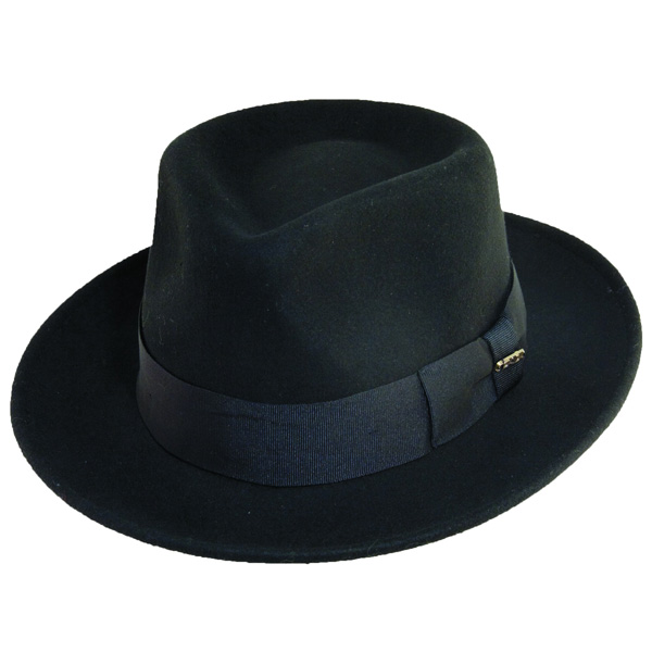 Scala Oversight - Soft Wool Fedora Hat