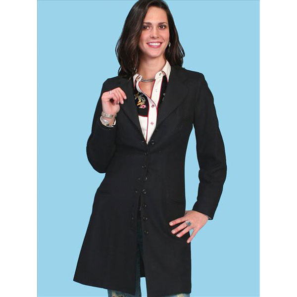 Scully Classic Dress Coat - Womens Jacket