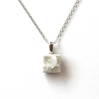 結晶釉タイルのネックレス A