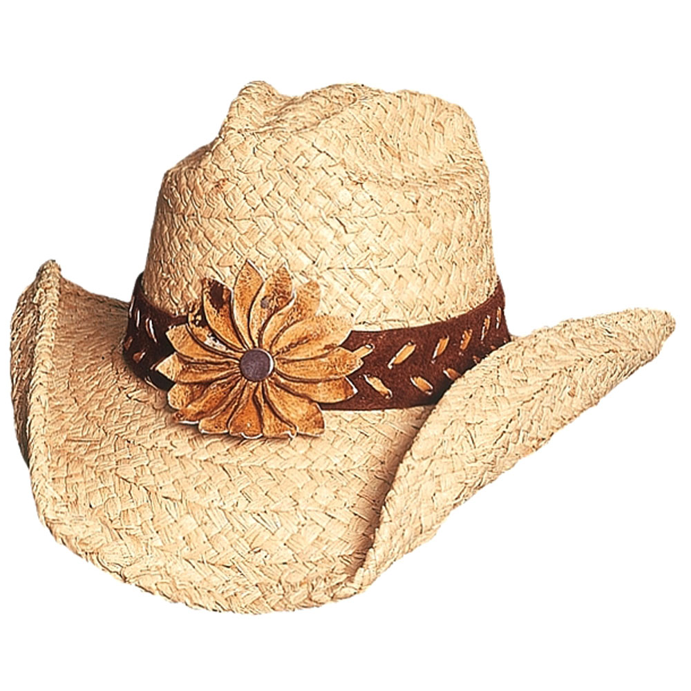 Bullhide Sunset - Womens Straw Cowboy Hat