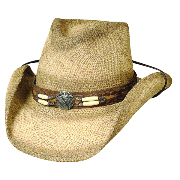 Bullhide Dundee - Shapeable Straw Cowboy Hat