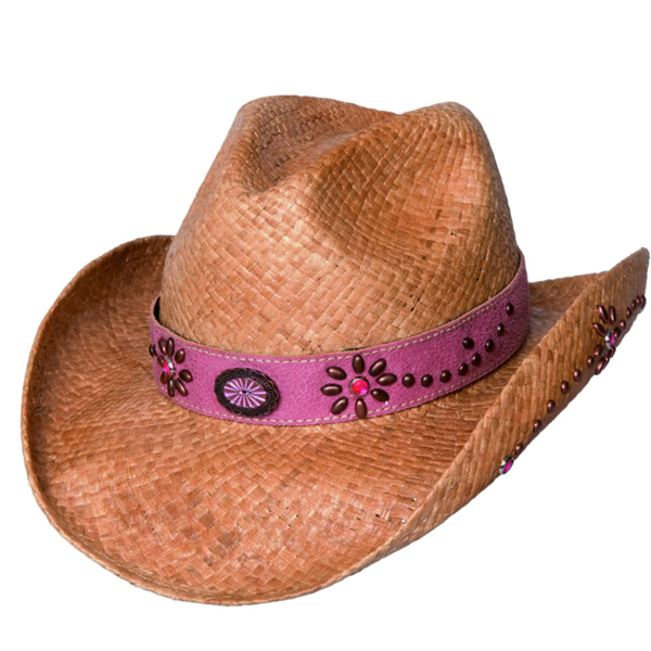 Bullhide Daughter of the West - Childrens Shapeable Straw Cowboy Hat