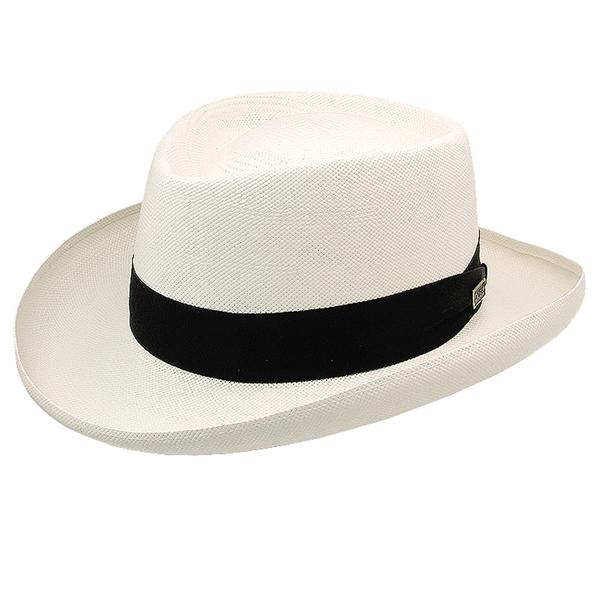 Dobbs Basino - Panama Straw Gambler Hat