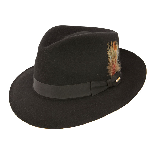 Stetson Downs - Fur Fedora Hat