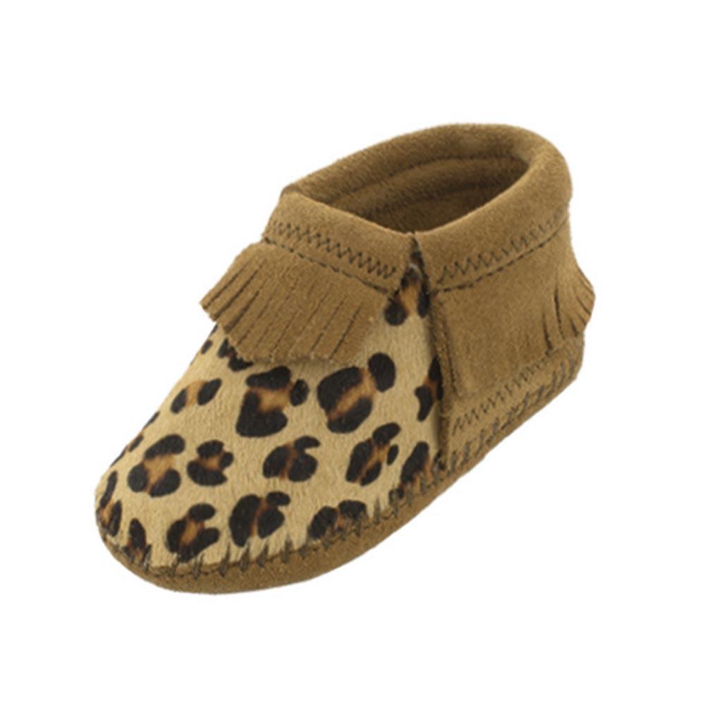 Minnetonka Leopard Bootie - Infants Bootie