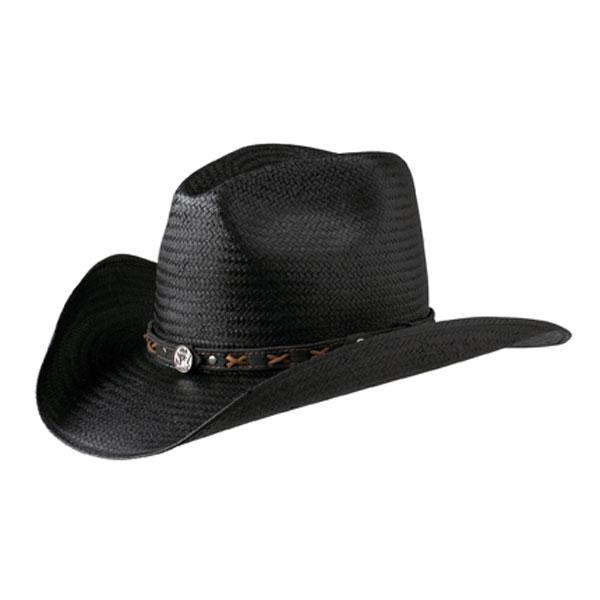 Jack Daniels Villain (JD03-62) - Straw Cowboy Hat
