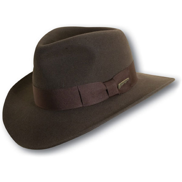 Indiana Jones Hats Classic Indiana Jones™ - Wool Fedora Hat
