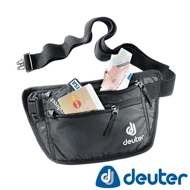 【德國deuter】 SECURITY MONEY BELT隱藏式腰包(3910216黑/安全輕量貼身/休閒旅遊防盜/證件護照包)