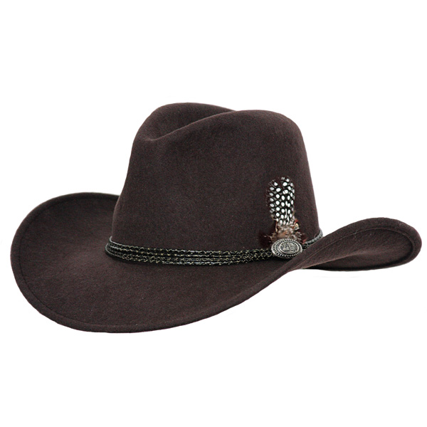 Outback Shy Game - Wool Outdoorsman Hat