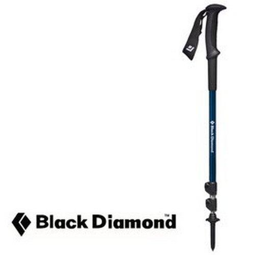 【Black Diamond 美國】TRAIL SPORT 3 快扣鋁登山杖 經典三節入門款 藍色 (112225)