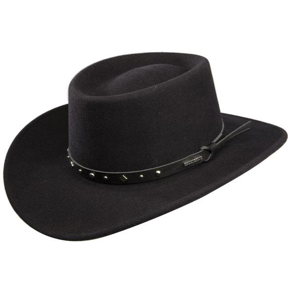 Stetson Black Hawk - Soft Wool Cowboy Hat