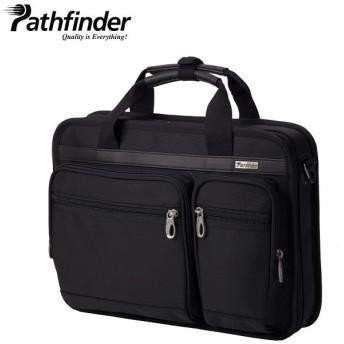 (Pathfinder/パスファインダー)パスファインダー Pathfinder バッグ ビジネスバッグ ブリーフケース ショルダー メンズ AVENGER ブラック 黒 PF1801B/メンズ ブラック