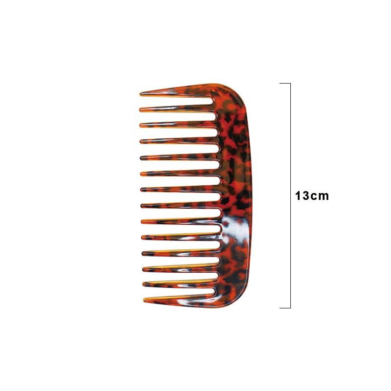 【Hanami】SB-9710 豹紋濕髮造型梳 1入 台灣製造