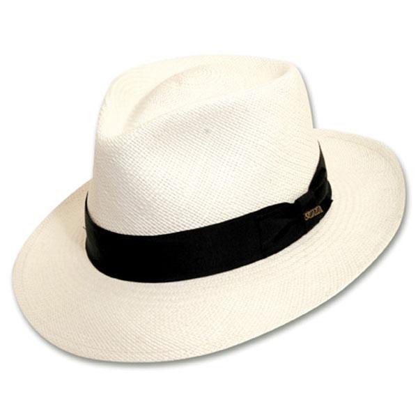 Scala Bernards - Straw Fedora Hat