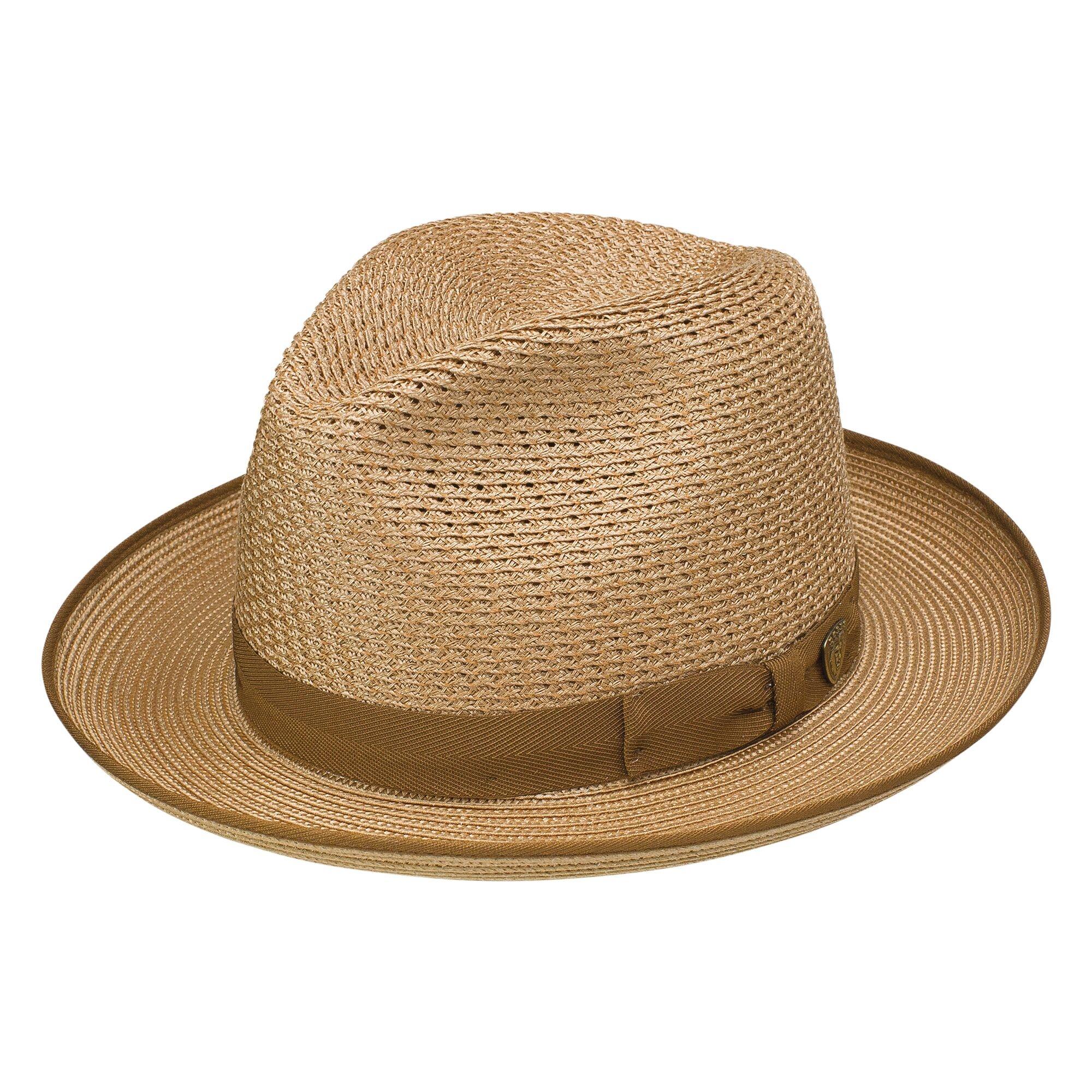 Dobbs Regalis - Milan Straw Fedora Hat