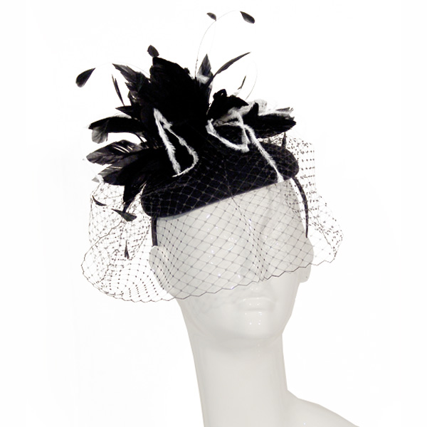 Scala Solitude Fascinator - Womens Church Hat
