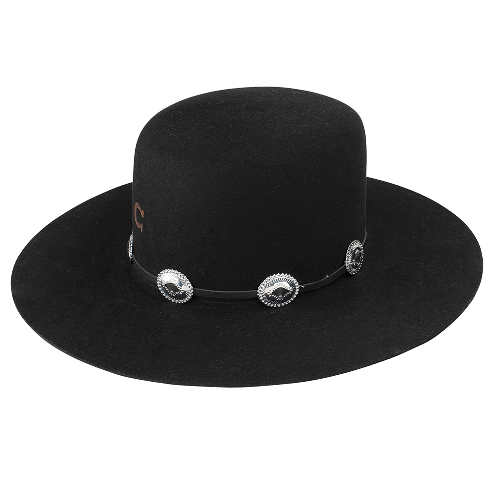 Charlie 1 Horse Stage Coach - Wool Cowboy Hat