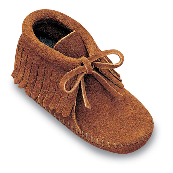 Minnetonka Fringe Bootie - Infants Bootie