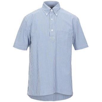 《セール開催中》BROOKS BROTHERS メンズ シャツ ブルー XS コットン 100%