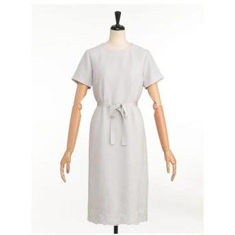 LESTERA / 【セットアップ】エレガント刺繍ドレス