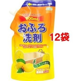 dポイントが貯まる・使える通販| アドグッド エコグッド おふろ洗剤 大容量つめかえ用 レモンの香り (900ml*12袋セット) 【dショッピング】 お風呂用洗剤 おすすめ価格